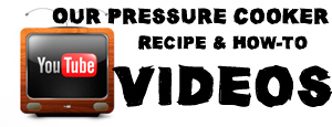 Pressure Cooker Recipes Youtube Channel