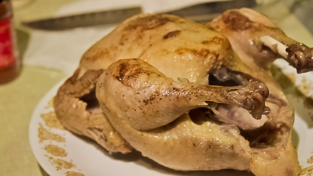 how to roast a chicken recipe