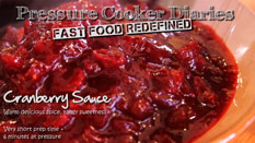 Fresh Homemade Cranberry Sauce